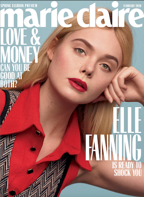 Marie Claire February 2020 cover