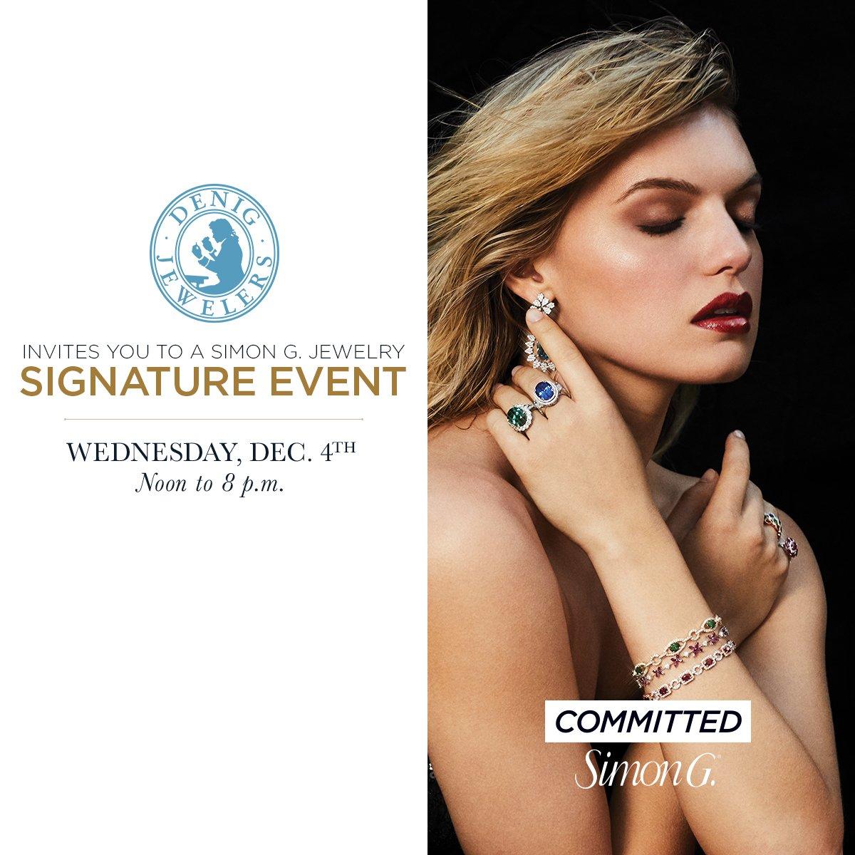 Event at Denig Jewelers