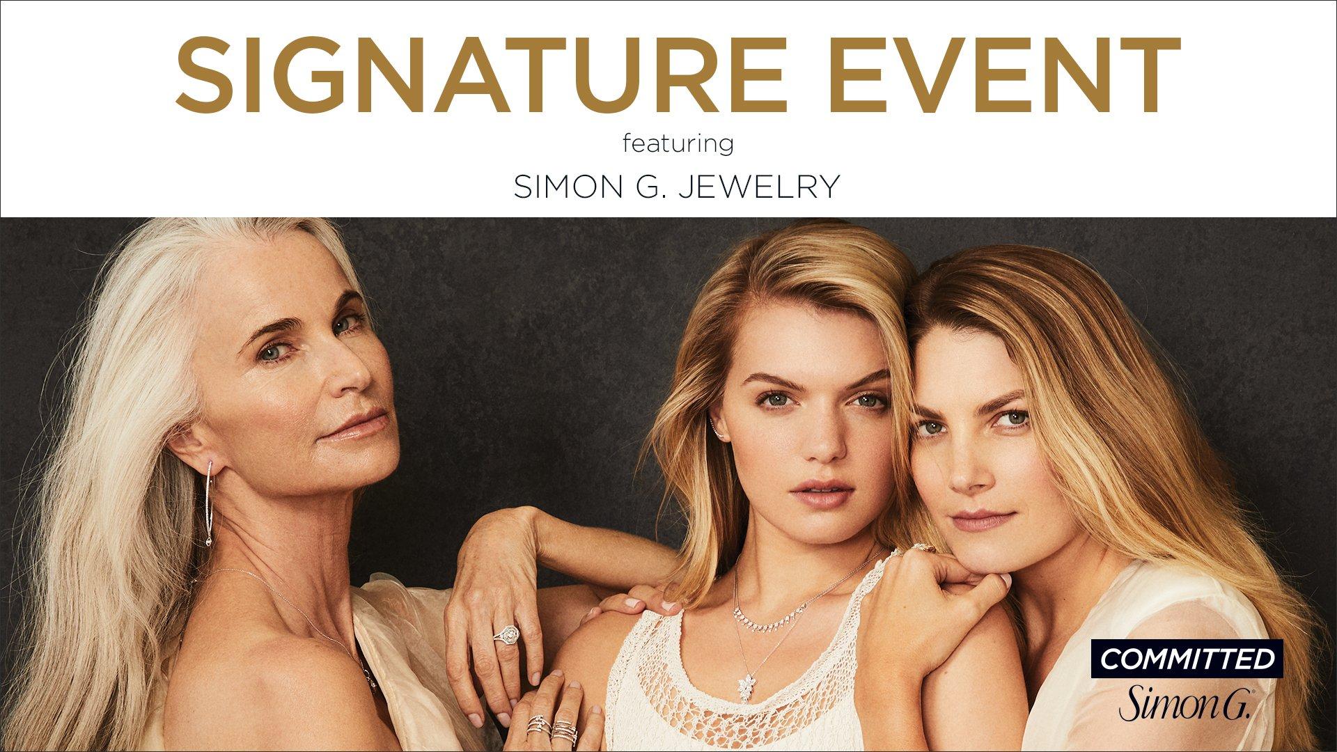 Simon G. Signature Event at Benari