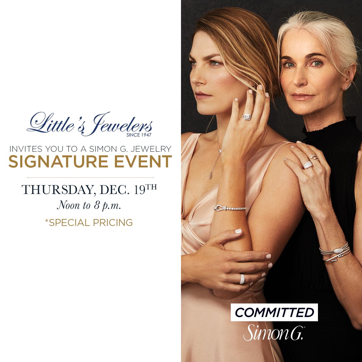 Simon G. Signature Event