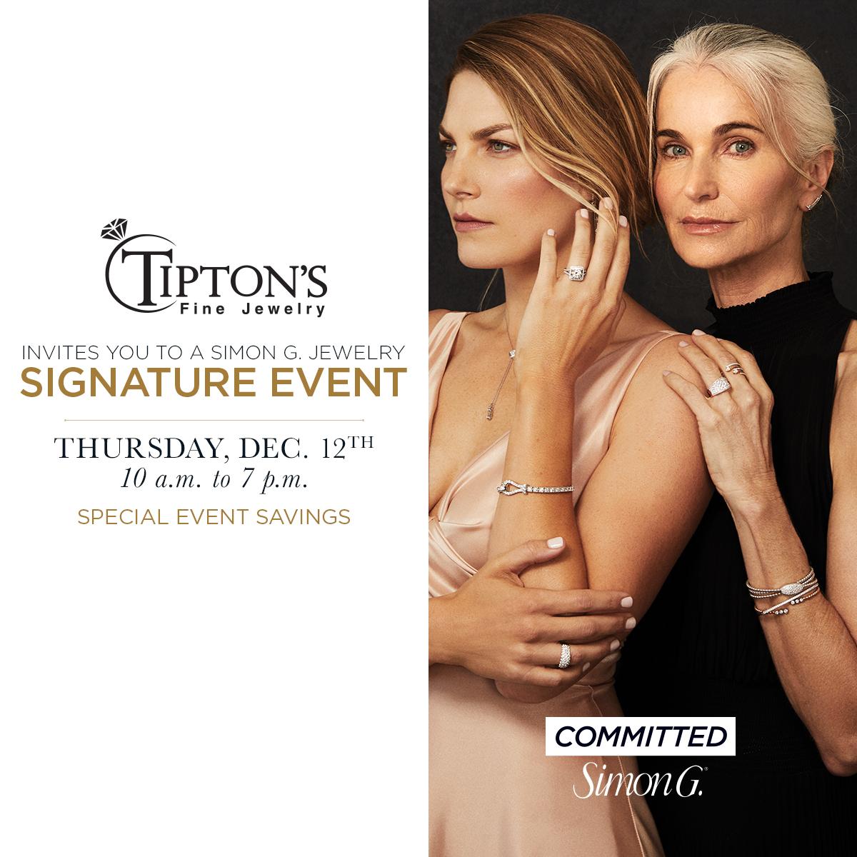Simon G. Event at Tipton's Fine Jewelry