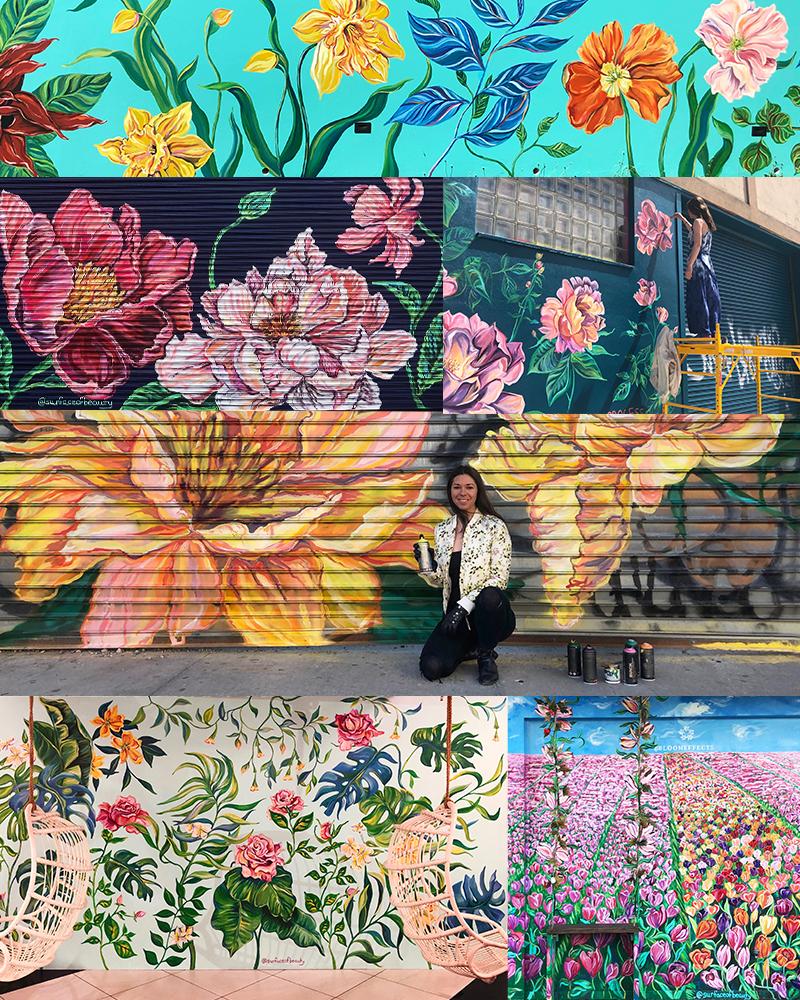 surface of beauty murals