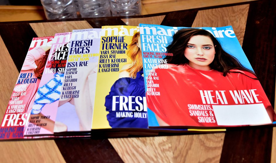 MARIE CLAIRE FRESH FACES
